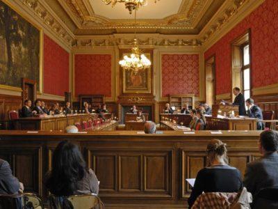 Deuxième lecture par le sénat du projet de loi relatif à Voies navigables de France
