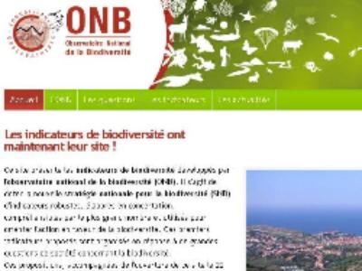 Lancement de l'Observatoire national de la biodiversité