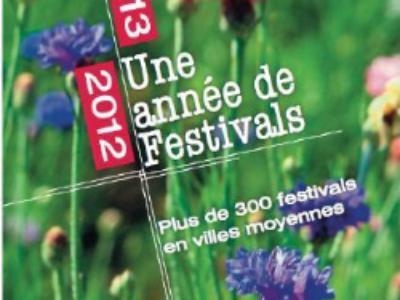 Le 1er Guide des Festivals des villes moyennes est paru!