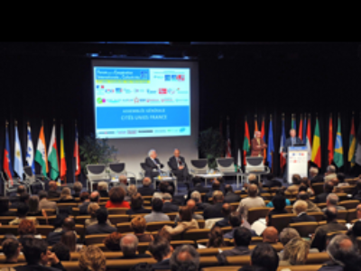 Les collectivités françaises réunies pour le 3e Forum de l'action  internationale des collectivités