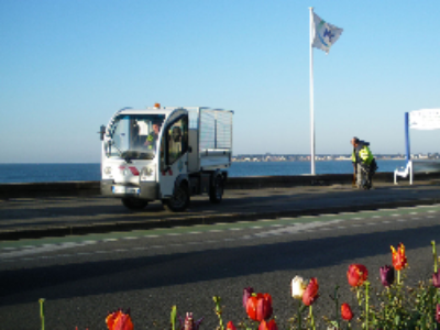 La Baule-Escoublac renouvelle sa flotte d'utilitaires en 100% électriques