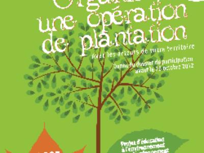 """Appel à projets pour l'opération """"Plus d'arbres, plus de vie!"""""""