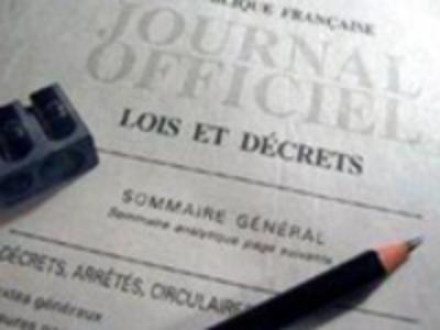 Sélection du JO du 21/01/2021