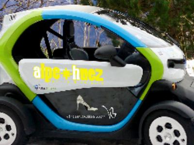L'Alpe d'Huez adopte l'autopartage électrique