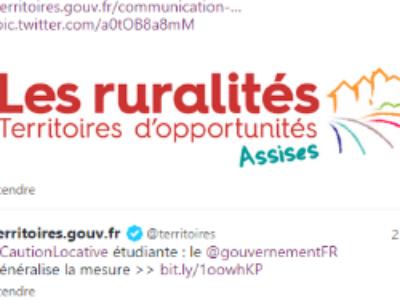 Lancement des Assises des Ruralités