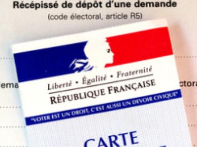 Régionales: inscription sur les listes électorales jusqu'à fin septembre