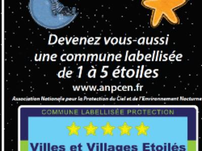 Le concours Villes et villages étoilés est lancé!