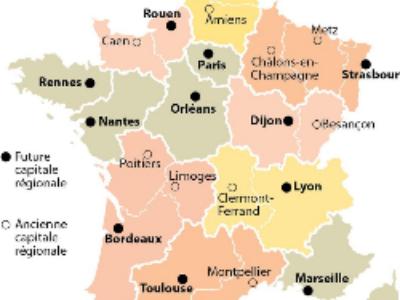 Et les futures capitales régionales sont…