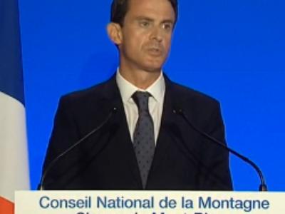Manuel Valls annonce une nouvelle loi Montagne pour 2016