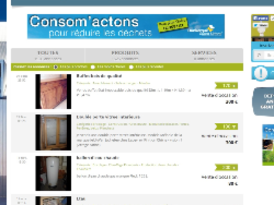 Le Communauté Urbaine de Dunkerque: quelques clics pour une claque aux encombrants