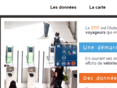 Le Stif s'ouvre à l'open data