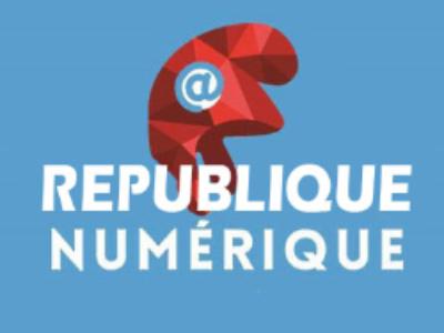 Le projet de loi pour une République numérique à l'Assemblée en janvier