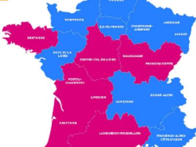 Régionales 2015: droite 7 – gauche 5 et le FN en progression constante