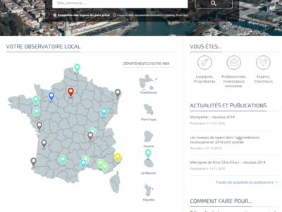 """Lancement du portail internet des """"Observatoires des loyers"""""""