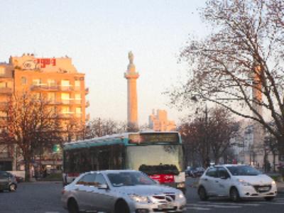 Paris: capteurs sur la ville