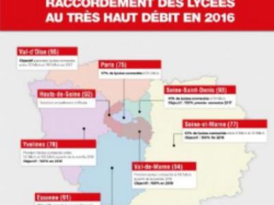 Ile-de-France: la Région promet des lycées 100% numériques d'ici 2020