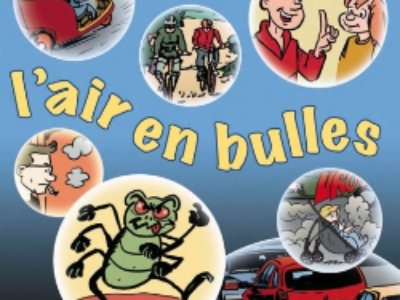 Pollution de l'air francilien: une BD FNE Ile-de-France pour sensibiliser les plus jeunes