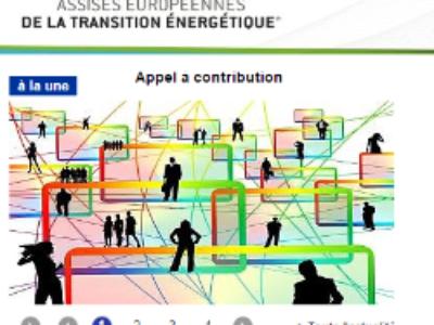 Assises de l'énergie 2017: contribuez au programme!
