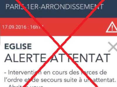 Fausse alerte attentat: le Ministère de l'Intérieur va se constituer partie civile