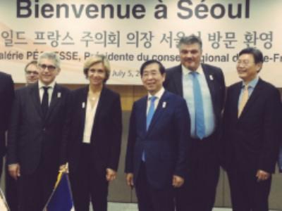 L'Ile-de-Fance signe trois nouveaux accords internationaux