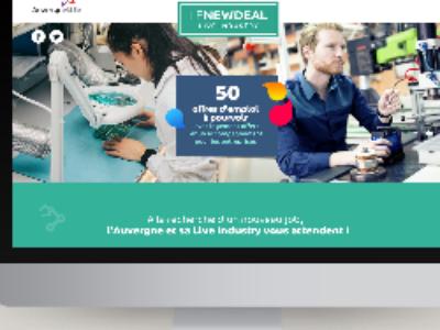 L'Agence des Territoires d'Auvergne lance le New Deal Live Industry