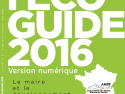Les Maires ruraux lancent l'Ecoguide 2016 version numérique