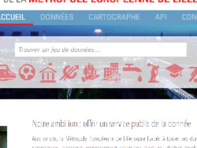Lancement du site d'open data de la Métropole Européenne de Lille