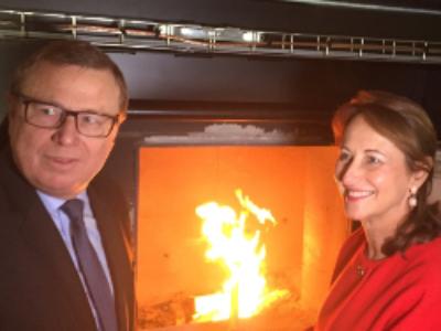 Ségolène Royal encourage les communes à développer les réseaux de chaleur