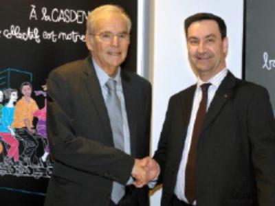 La Casden Banque Populaire et le SNDGCT alliés pour l'innovation et le management public
