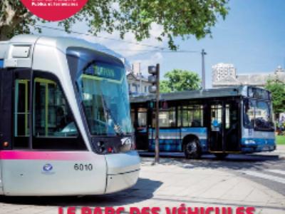 Services de transports urbains: le parc de véhicules augmente et se diversifie