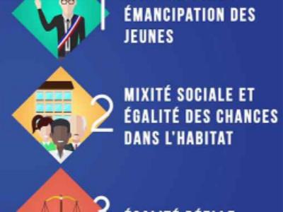 """Le projet de loi """"Egalité et Citoyenneté"""" définitivement adopté"""