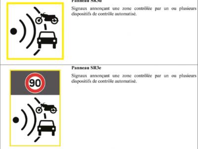 Création de deux nouveaux panneaux de signalisation
