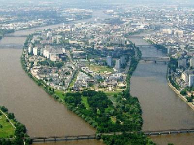 Angers, Nantes et Strasbourg: la vie et la ville en vert