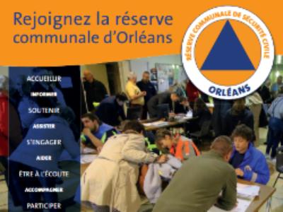 Orléans constitue une réserve communale de sécurité civile