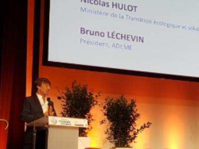 Economie circulaire: Nicolas Hulot lance un appel à une mobilisation générale