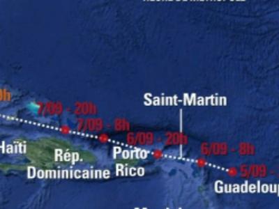 Ouragan Irma: mise en place de numéros d'appel d'information du public