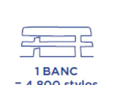 Ce banc est un stylo ou… inversement