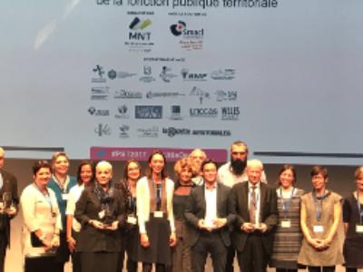 """Prix """"Santé et mieux-être au travail de la FPT"""": cinq collectivités récompensées"""