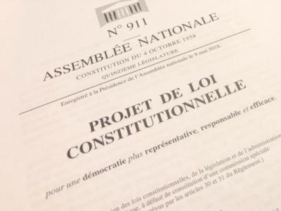 Constitution: les députés valident le non-cumul pour les ministres avec un exécutif local