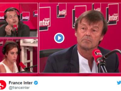 Nicolas Hulot annonce sa démission du gouvernement sur France Inter