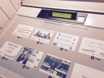 Vote électronique: vers le maintien des machines à voter et du vote par Internet?
