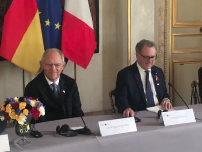 """Vers la création d'une """"assemblée parlementaire franco-allemande"""" début 2019"""