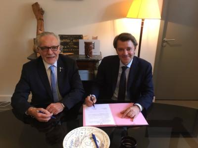 Commerce et artisanat: l'AMF et la CGAD signent une convention de partenariat